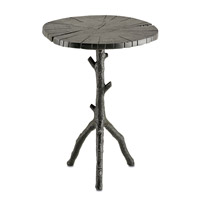 Currey & Company Swinley Occasional Table in Antique Black 4171