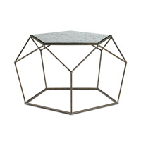 Axiom 29 inch Mayfair and Antique Mirror Coffee Table