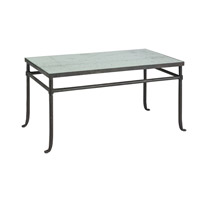 Currey & Company Aquarius Coffee Table in Textured Bronze 4177