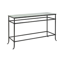 Currey & Company Aquarius Console Table in Textured Bronze 4178
