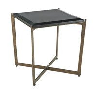 Currey & Company Galbi Accent Table in Cupertino and Black 4193