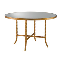 Currey & Company Sudeley Table in Gilt Bronze and Lavish Antique 4199