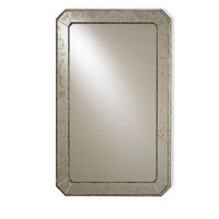 Antiqued 41 X 26 inch Antique Mirror Wall Mirror