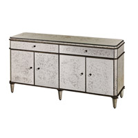 Currey & Company Antiqued Mirror  Credenza in Antique Mirror 4208