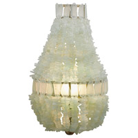 Zucchero 1 Light 11 inch Silver Granello / Seaglass Wall Sconce Wall Light