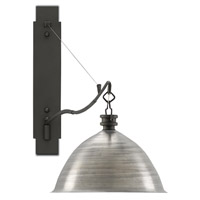 Far Out 1 Light 82 inch Brushed Aluminum and Gray Iron Wall Sconce Wall Light
