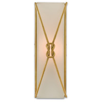 Ariadne 1 Light 6 inch Contemporary Gold Leaf Wall Sconce Wall Light