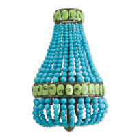 Lana 2 Light 10 inch Cupertino/Turquoise/Jade Wall Sconce Wall Light