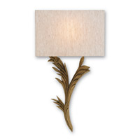 Currey & Company Bel Esprit 1 Light Wall Sconce in Antiquity Gold 5096