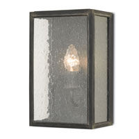 Currey & Company Kimbolton 1 Light Wall Sconce in Black Smith 5114