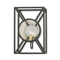 Currey & Company 5119 Beckmore 1 Light 10 inch Old Iron Wall Sconce Wall Light