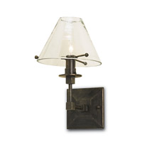 Currey & Company 5127 Kiran 1 Light 7 inch Bronze Gold Wall Sconce Wall Light