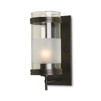 Currey & Company 5130 Walthall 1 Light 5 inch Bronze Gold Wall Sconce Wall Light