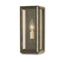 Currey & Company Drake 1 Light Wall Sconce in Bronze Gold 5138