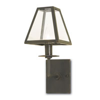 Currey & Company Burchard 1 Light Wall Sconce in Old Iron 5139