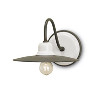 Currey & Company Eastleigh 1 Light Wall Sconce in Hiroshi Gray 5154