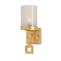 Currey & Company Brighton 1 Light Wall Sconce in Dutch Gold Leaf 5168