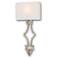 Currey & Company 5173 Eternity 1 Light 14 inch Silver Granello ADA Wall Sconce Wall Light
