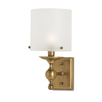 Currey & Company Pennsbury 1 Light Wall Sconce in Antique Brass 5185