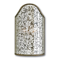 Astral 2 Light 10 inch Pyrite Bronze and Raj Mirror Wall Sconce Wall Light
