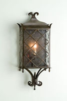 Currey & Company Maurice 1 Light Wall Sconce in Old Iron 5345