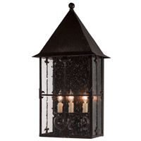 Faracy 3 Light 13 inch Midnight Wall Sconce Wall Light, Large