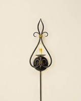 Currey & Company Icon 1 Light Wall Sconce in Old Iron/Old Brass 5516