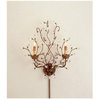 Currey & Company Crystal Bud 2 Light Chandelier in Cupertino 5882