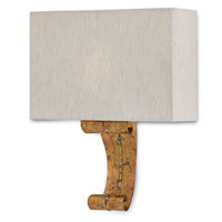 Antechamber 1 Light 12 inch Gold Leaf ADA Wall Sconce Wall Light