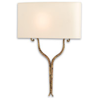 Winchester 1 Light 16 inch Gold Leaf ADA Wall Sconce Wall Light