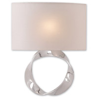 Chancey 1 Light 15 inch Polished Nickel Wall Sconce Wall Light