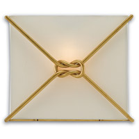 Ariadne 1 Light 12 inch Contemporary Gold Leaf ADA Wall Sconce Wall Light