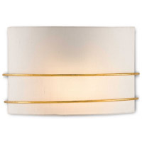 Corsham 1 Light 13 inch Contemporary Gold Leaf Wall Sconce Wall Light