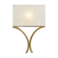 Cornwall 1 Light 15 inch French Gold Leaf Wall Sconce Wall Light