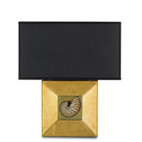 Currey & Company Gracemere 1 Light Wall Sconce in Contemporary Gold Leaf 5909