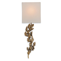 Currey & Company Oakington 1 Light Wall Sconce in Bronze 5912