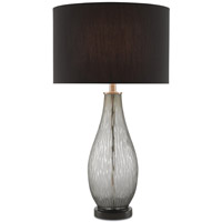 Dwaal 32 inch 150 watt Ash Gray and Black Table Lamp Portable Light