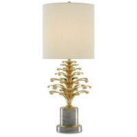 Orsay 32 inch 150 watt Polished Brass and Oxidized Pewter Table Lamp Portable Light