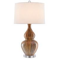 Currey & Company 6000-0462 Kolor 31 inch 150 watt Earth/Brown Table Lamp Portable Light