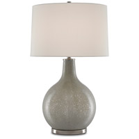 Currey & Company 6000-0519 Cantico 32 inch 150 watt Gray/Antique Nickel Table Lamp Portable Light