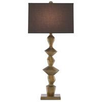 Currey & Company 6000-0531 Reginald 35 inch 150 watt Antique Brass Table Lamp Portable Light