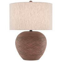 Currey & Company Wood Table Lamps