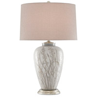 Currey & Company 6000-0552 Peppergrass 29 inch 150 watt Taupe/Pyrite Bronze Table Lamp Portable Light