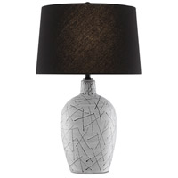 Currey & Company Matte Black Table Lamps