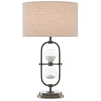 Currey & Company 6000-0563 Chronicle 26 inch 75 watt Painted Bronze Table Lamp Portable Light