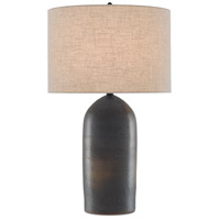 Rust/Iron Ceramic Table Lamps