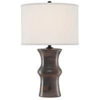 Currey & Company 6000-0573 Visco 26 inch 150 watt Rust/Iron/Green Table Lamp Portable Light