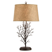 Currey & Company Midwinter 1 Light Table Lamp in Rustic Bronze 6017