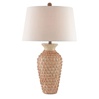 Dayroom 17 inch 150 watt Ivory / Natural Table Lamp Portable Light