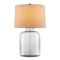 Delilah  30 inch 150 watt Antique White/ Brass Table Lamp Portable Light